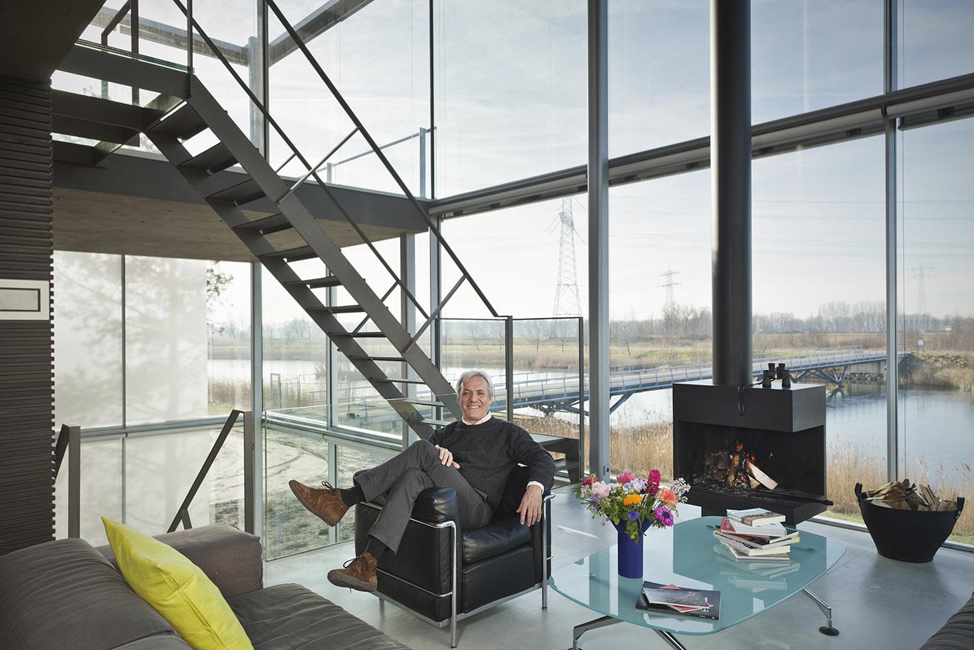 Huis van de architect for Interieur van eigentijds huis foto