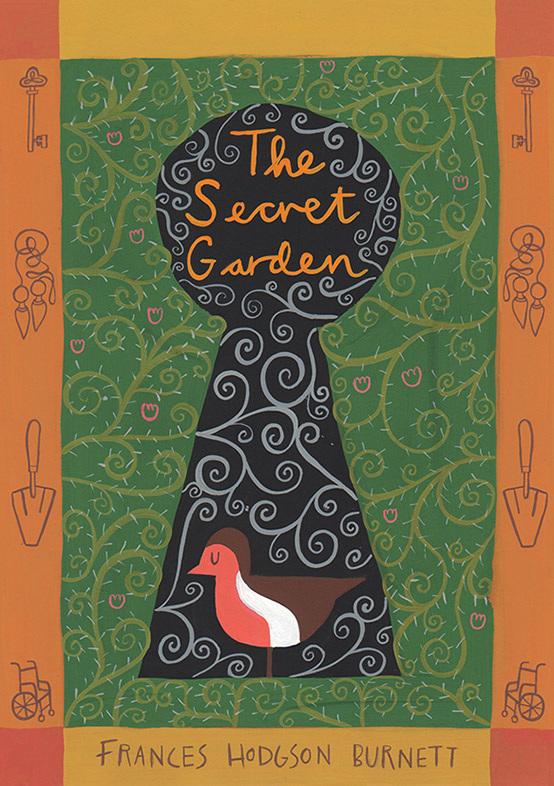 speculative book cover for frances hodgson burnetts the secret garden - Secret Garden Book